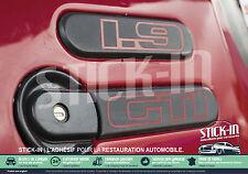 Peugeot 205 GTI 1.9 1900 Autocollants Stickers Monogrammes Custodes 100% IDENTIQ