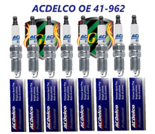 8-PC PLATINUM SPARK PLUGS 41-962 41962 19299585 This is an OEM GM Plugs