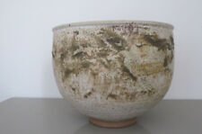 EDNA ARNOW studio pottery Mid Century Modernbowl signed, numbered by artist.