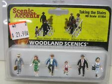 Woodland Scenics # A1954 ~ Taking The Stairs ~ Lot A ~Ho Scale