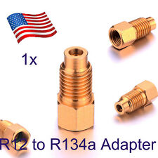 A/C R-12 to R-134a Adapter Conversion Quick Connect Coupler 1/4