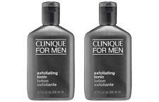 2x Lot New CLINIQUE For Men Exfoliating Tonic 6.7oz 200ml Normal-Dry Skin
