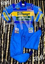 F1 Michael Schumacher 1995 printed Race suit