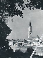 Vilshofen - Altstadtgasse - Großformat - um 1960 - selten  K 0-1-M-15