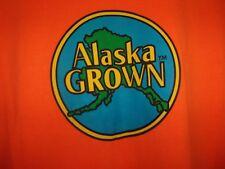 Alaska GROWN orange 2XL t shirt