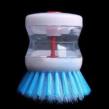 Dish Washing Brush Cleaning Liquid Dispenser Kitchen Pot Scrubber Wash Cleaner