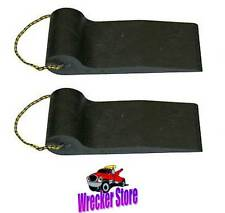 SET OF 2, WIDE TIRE SKATES for TOW TRUCK, WRECKER, ROLLBACK, CARRIER, FLAT BED