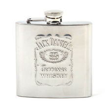 Jack Daniels Stainless Steel 6oz Hip Flask