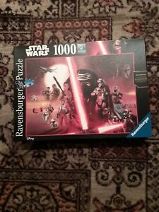 Ravensburger 1000 Pieces Jigsaw Puzzle Game The Force Awakens Star Wars