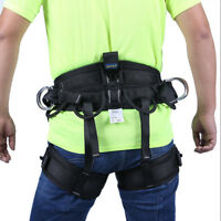 Pro Safety Rock Climbing Harness Belt Tree Arborist Fall Protection Equipment