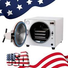 18Liter Dental Autoclave Sterilizer Medical Steam Sterilization Lab Equipment US