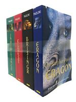 The Inheritance Cycle Series 4 Book Set Collection Eragon, Eldest, Brisngr...