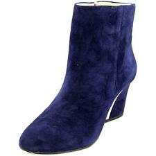 Suede Special Occasion Cuban Heel Boots for Women