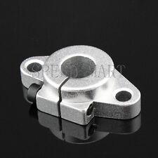 Shf12 12mm Aluminum Rod Holder Linear Rail Shaft Guide Support Cnc Mill Bearing