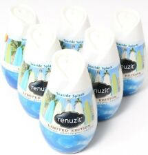6 Renuzit Limited Edition Seaside Splash Gel Cone Air Freshener 7oz Cones