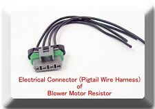 PT1231 4 Wire Pigtail Electrical  harness connector for Blower Motor