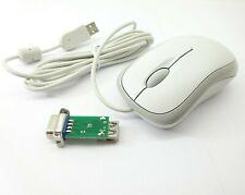 COMMODORE AMIGA mouse Mouse ottico aggiornamento moderno Bianco-Libero consegna cingolati