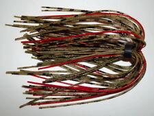 "5 Custom Starflash Silicone jig Skirts - (Texas Craw) - Bass Fishing - ""NEW"""