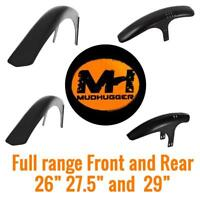 "Mudhugger MTB Mudguard Mountain Bike front rear all sizes 26"" 27.5"" 29"""