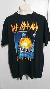 Def Leppard pyromania T shirt hard rock van halen kiss bon jovi aerosmith