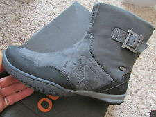 NEW MERRELL ALBANY SKY LEATHER BOOTS WOMENS 6 GRAY SUEDE WATERPROOF