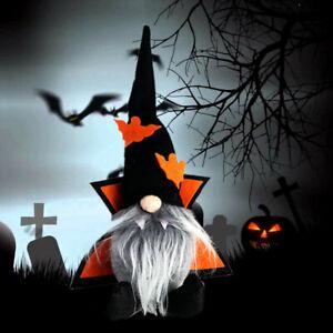 Halloween Gnome Dracula Vampire Decoration Gothic Decor Scary Goth Gonk Bat Gift