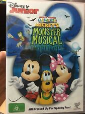 Mickey Mouse Clubhouse Mickey's Monster Musical  - DVD - Region 4 | NEW & SEALED