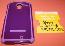 Body Glove Tactic case Motorola Moto X, Glossy Purple & Lavender color, new