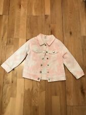 Size 4 dollhouse Little Girls and Toddlers Quilted Spring Trench Jacket with Hood Lollipop