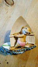 Artefice Ottana d' Esposito -Bunny Rabbit On Surfboard 1982