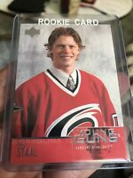 2003 2004 Upper Deck Young Guns Eric Staal Rookie RC Hurricanes Canadians
