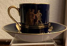 Heinrich & Co Selb Bavaria Espresso/Demitasse Cup & Saucer, Made In West Germany