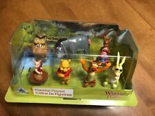 Disney Winnie The Pooh Figurine Playset Play Set of 7 PVC Cake Toppers NEW