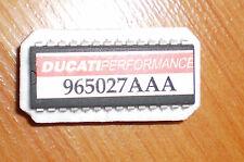 DUCATI 916 CON CHIP aperto SCARICO 965027aaa RACING Ø50 iaw16m ECU