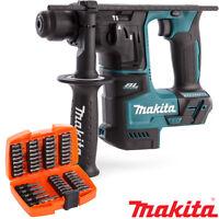 Makita DHR171Z 18V LXT Brushless SDS+ Rotary Hammer + 53pcs Screwdriver Bit Set