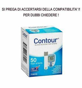50 Contour strisce reattive diabete test glucosio scadenza: 30-06-2022.