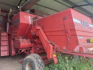1985 Massey Ferguson 865 Combine Harvester 18' Header