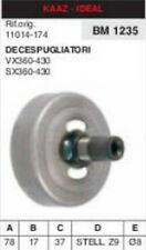 11014-174 CAMPANA FRIZIONE DECESPUGLIATORE KAAZ IDEAL VX360 VX430 SX360 SX430