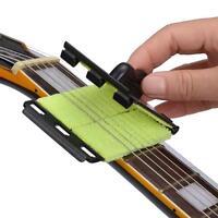 Guitar Strings Scrubber Fretboard Cleaner Bass Fingerboard Tools WT