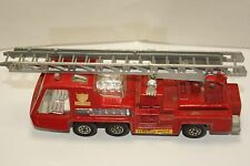 ORIGINAL Matchbox - Super Kings - K-9 - Fire Tender - Red Fire Ladder Truck