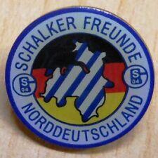 Pin / Anstecker Butterfly + Schalke Fan Club Schalker Freunde Norddeutschland +