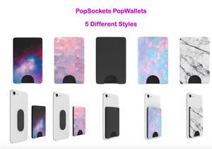 PopSockets PopWallet 5 Different Styles