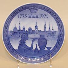 1975 & 1976 Royal Copenhagen Denmark Commemorative Bicentenary Plates