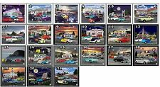 """""""Pick anytwo"""" 8x10 print,classic cars,hot rods,muscle cars,gas stations,RT66"""
