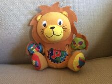 Baby Einstein plush Lion Press and Play Pals musical soft stuffed toy 3+ M Month