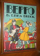 BEPPO by Emma Brock*1936*HC*St. Francis Assisi*ILLUS