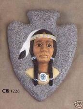 """New #1228 Ceramic Emporium Mold """"Arrowhead w/ Maiden"""" - LAST ONE"""