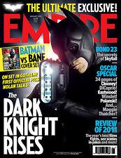 EMPIRE Magazine,The Dark Knight Rises, Batman, Bane, Christian Bale, Tom Hardy