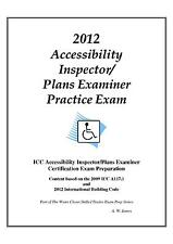 2012 ICC Accessibility Insp/ Plans Examiner Practice Exam on USB Flash Drive