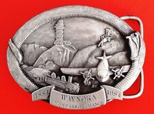 100 Years Of Change 1884-1984 Limited Edition Belt Buckle #68 of 500